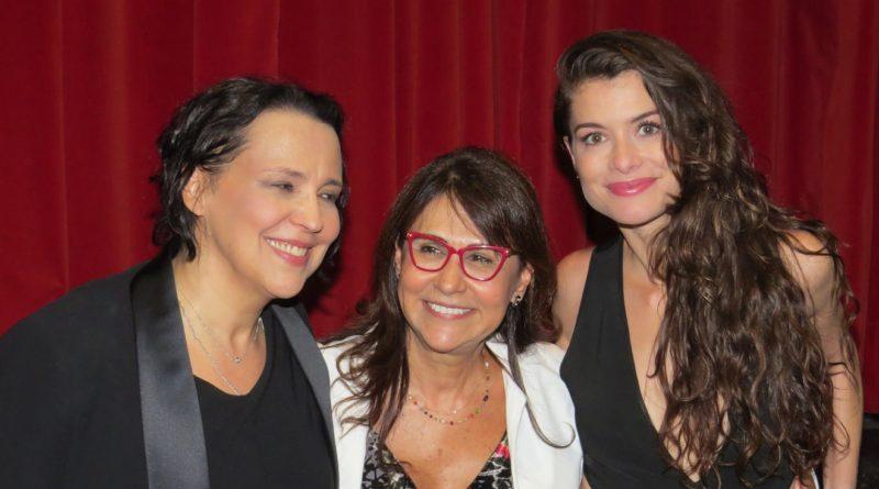 Ana Beatriz Nogueira revela segredo a Alinne Moraes e surpreende a todos
