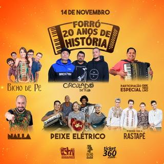 Banda Rastapé se apresenta no Festival Forró – 20 Anos de História