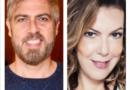 Os atores Claudia Lira e Anderson Muller contam agruras em lives divertidas